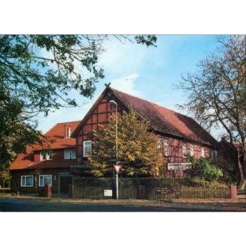 """Ansichtskarte Negenborn Landgasthaus """"Zur Linde"""" 1995"""