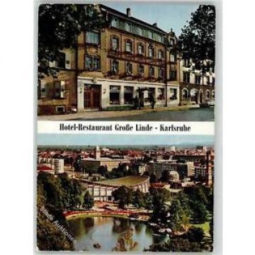 51915118 - Karlsruhe , Baden Hotel Gasthaus Wihelm Mayer Grosse Linde  Preissenk