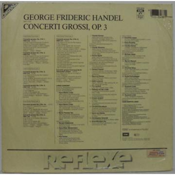 Handel - Concerti Grossi Op. 3 Alexander's Feast LINDE CONSORT 2LP Still Sealed
