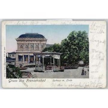51161558 - Frantiskovy Lazne   Franzensbad Kurhaus mit Linde Preissenkung