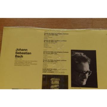 BACH still sealed LINDE TILNEY ULSAMER sonatas flute harpsichord viola EMI 64263