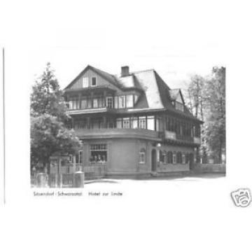 AK, Sitzendorf Schwarzatal, Hotel zur Linde, 1953