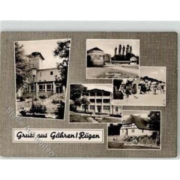 52197506 - Goehren , Ruegen Ernst Thaelmann Heim Erholungsheim Zur Linde Strand