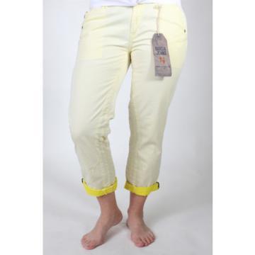 Garcia LINDE D30313/2-153 Damen 7/8 Hose gelb