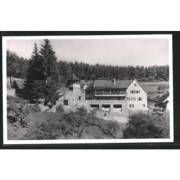 tolle AK Berneck, Hotel-Kurhaus zur Linde 1931