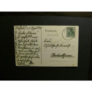 Ilsfeld (PLZ 74360)  mit Gasthaus zur Linde, gelaufen 1913 (539)