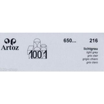 Artoz 1001 - 20 Stück Briefumschläge DIN Lang 223x114 mm HK - Frei Haus