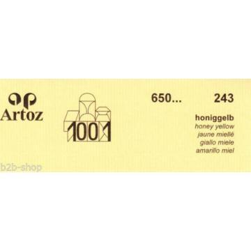 Artoz 1001- 20 Stück Doppelkarten DIN Lang ld 420x105 mm - Frei Haus