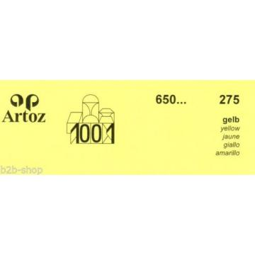 Artoz 1001- 20 Stück Doppelkarten DIN A6 ld 296x105 mm - Frei Haus