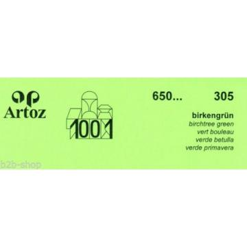 Artoz 1001 - 20 Stück Briefumschläge DIN C7 110x75 mm - Frei Haus
