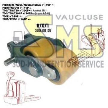 CHAPE COMPLETTE DOUBLE GALET B7071 FENWICK LINDE N20 N25 N20L <N°149P 3608501102