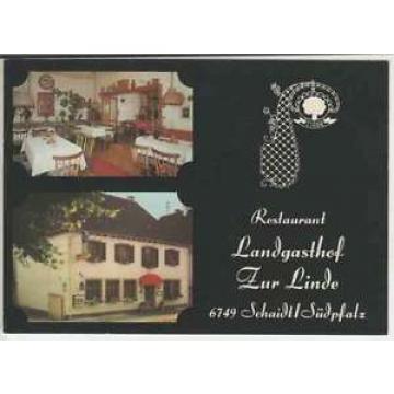 """Ak  SCHAIDT /Südpfalz    Landgasthof  """"ZUR  LINDE""""   (.. 22 525)"""