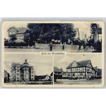 50996187 - Nesselroeden , Kr Eschwege Dorfpartie mit Kirche und Linde, Landgraef