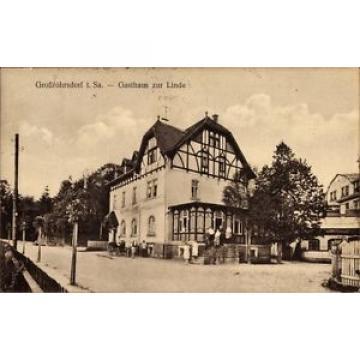 Ak Großröhrsdorf im Kreis Bautzen, Gasthaus zur Linde, Ernst Seifert - 1422726