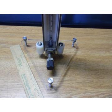 Union Carbide Linde Gas Flow Meter
