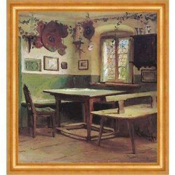 Künstlerstammtisch im Hotel Linde Karl Raupp Stube Bütten Chiemseemaler A3 143