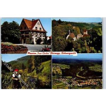 51090727 - Steinegg , Baden Kirche, Ortsansicht, Schwarzwald, Pension Zur Linde