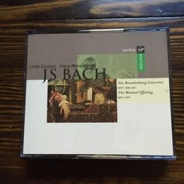 Linde Consort / Bach: Brandenburg Concertos 1-6/Musical Offering; Hans-Martin ..