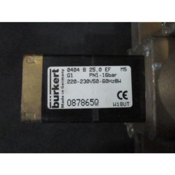 LINDE AG 520861 Valve Solenoid COMP E-220 N 16515, PN1-16bar, 220-230V, 50/60Hz,