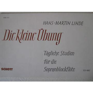 HANS-MARTIN LINDE Daily Studies for Descant Recorder
