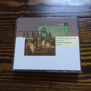 Linde / J.S. Bach: Brandenburg Concertos 1-6/Musical Offering; Hans-Martin Lin..