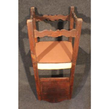Stuhl Barock um 19. Jh., Linde, Fichte, restauriert und neu gepolstert #2125