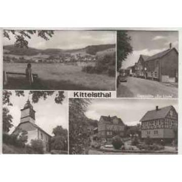 "Ak  KITTELSTHAL / Sa.    u.a. Gaststätte ""Zur Linde""    ( .. 43 437 )"