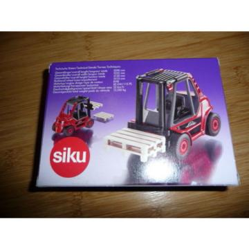 SIKU Diecast Linde 2619 Forklift truck 1:55 MINT CONDITION