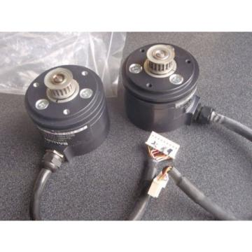 Lot of 2  Balluff BDG 6360-78-3-05-1080-65  LEINE & LINDE Incremental Encoder