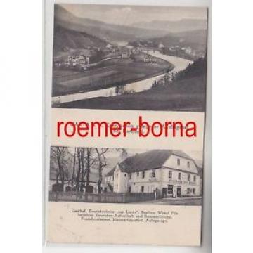 """67862 Mehrbild Ak Warta an der Eger Gasthof """"Zur Linde"""" 1929"""