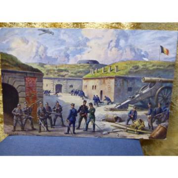 AK Feldpost Fort Malonne Erobert durch Leutnant v.d. Linde und 4 mann