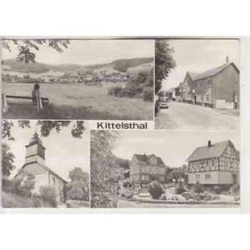"""Ak  KITTELSTHAL  / Thür.     u.a. Gaststätte  """"Zur Linde""""  ( .. 43 874 )"""