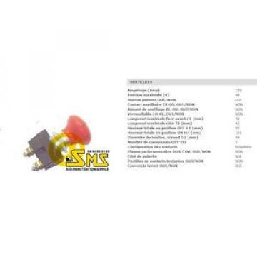 ARRET D'URGENCE LINDE 7915395637 PIECES TRANSPALETTE ELECTRIQUE COUPE BATTERIE