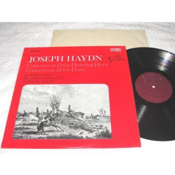 """Penzel/Linde/Collegium Aureum """"Haydn: Concertos"""" 1968 LP, Nice NM-!, #VICS-1324"""