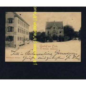 HECHINGEN Gasthof zur Linde * AK um 1895