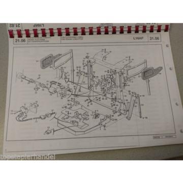 Libro de piezas de repuesto Linde montacarga16 - L16AP Serie 365 desde 06/89