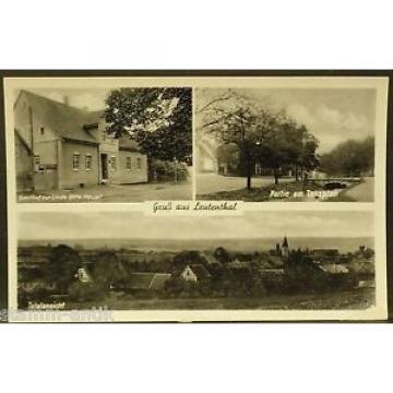 Leutenthal,Thür.,Gasthof zur Linde Otto Haupt,Tanzplan,tolle Ansichtskarte