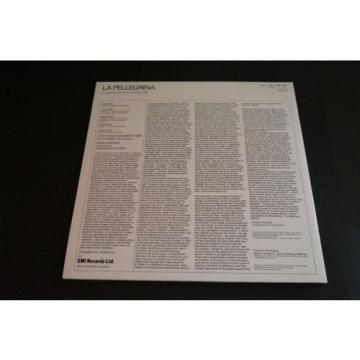 Eric Ericson Linde Consort La Pellegrina LP 1983 EU EMI SLS 1301143 Vinyl Record