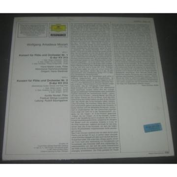 Mozart - Concerto for Flute and Orchestra KV 313 314 Hans Martin Linde DGG LP