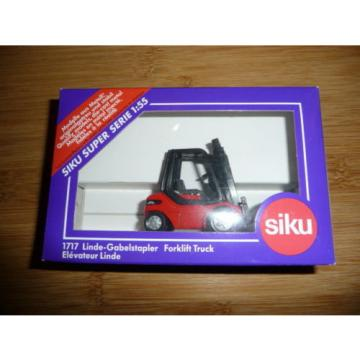 SIKU Diecast Linde 1717 Forklift truck 1:55