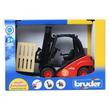 Nabita World bruder 1:16 Linde fork lift H30D with 2 pallets BR02511 Car Toy