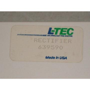 New! L-TEC 639590 Rectifier Free Shipping! Linde