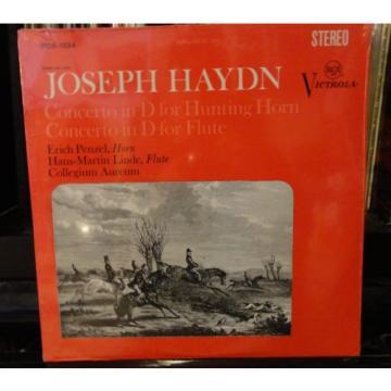 sealed ERICH PENZEL Hans-Martin Linde HAYDN HORN & FLUTE 1968 STEREO VICS-1324