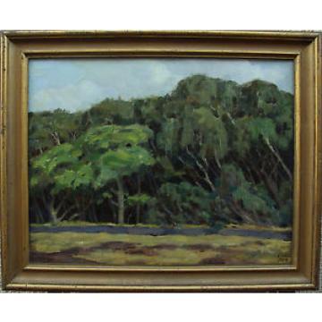 Ebba Holm 1889-1967, La mayor parte Linde del bosque de Tisriede, fechado 1914