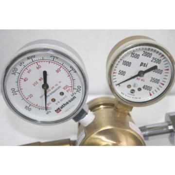 Linde High Pressure Valve with Dual Gauges