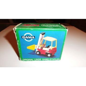 Rare Gama Mini Linde Gabelstapler forklift truck MIB