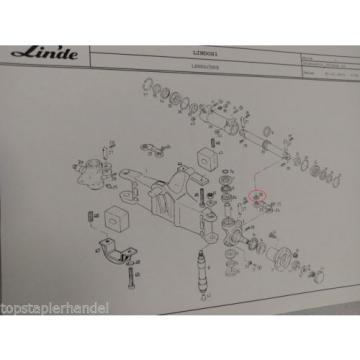 Dichtring 26x53x3,4 für Lenkachse Linde 0009610431 H20/25/30 E14/16/18/20 uvm..