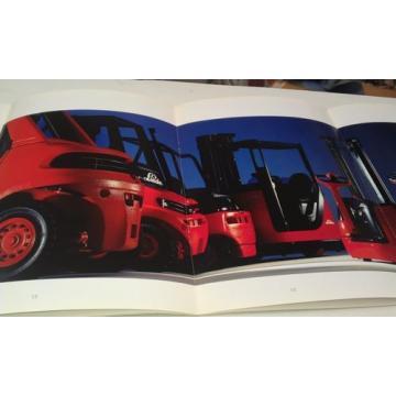 1989 LINDE FORK LIFT TRUCKS Orig Sales Brochures