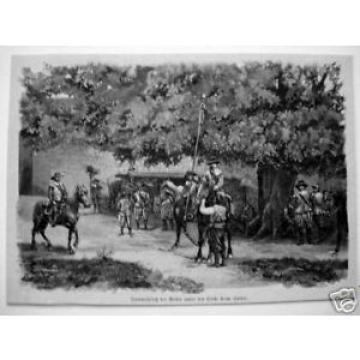 1890#Rothenburg ob der Tauber#Linde#Spital#Reiter#