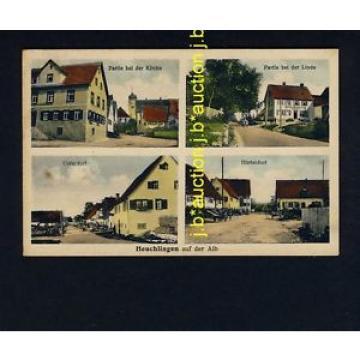 HEUCHLINGEN OA Heidenheim / Gasthaus Linde, Honold * AK um 1920
